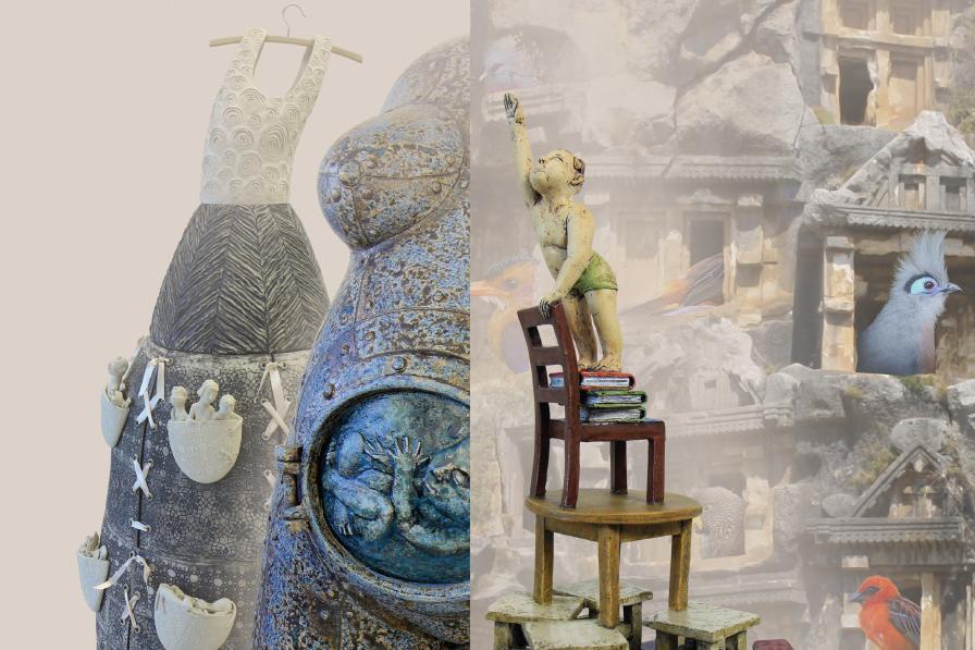 Sigitos ir Ričardo Lukošiūnų keramikos ir fotografijos paroda