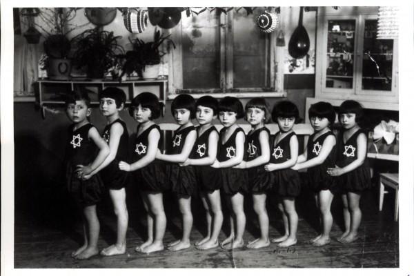 Žydų organizacijos vaikai. Iš Jonavos kilusio Normano Levino asmeninio archyvo nuotr